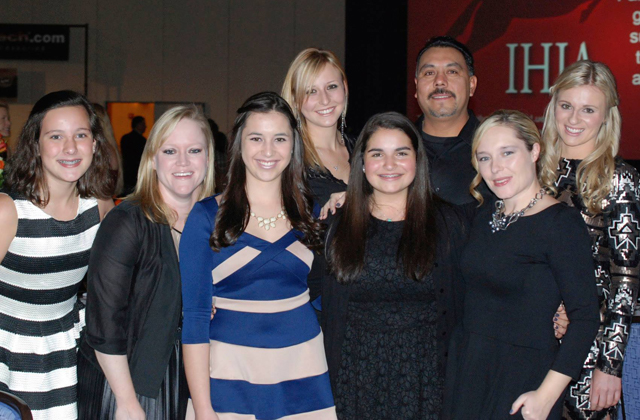 Autumn Road Farm Team at the 2014 IHJA Banquet